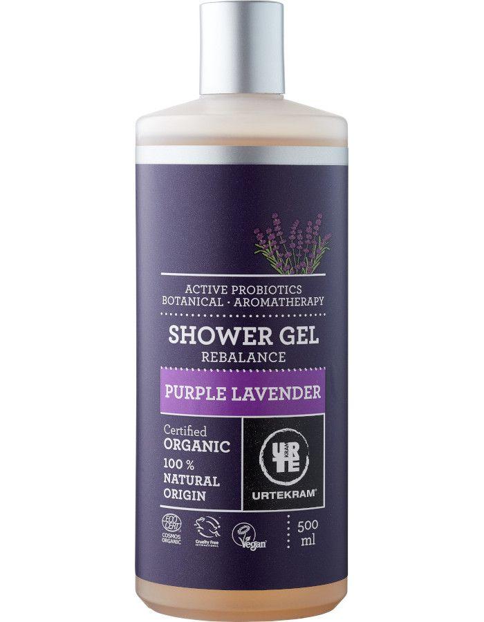 Urtekram Showergel Purple Lavender Voordeelformaat 500ml
