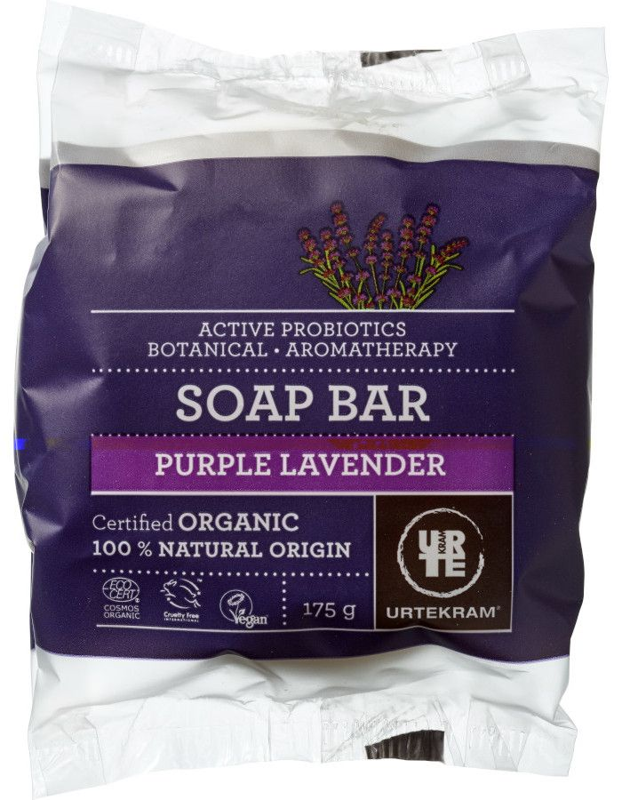 Urtekram Soap Bar Purple Lavender 175g