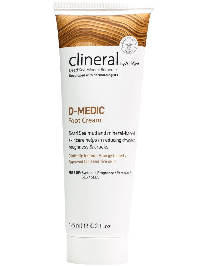 Ahava Clineral Dead Sea Mineral Remedies DMEDIC Foot Cream 125ml