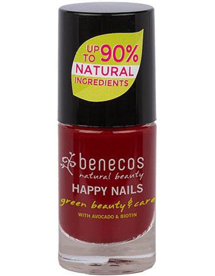 Benecos Happy Nails Nagellak Red Cherry 5ml