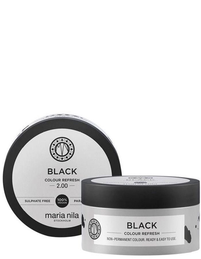 Maria Nila Colour Refresh Haarmasker Black 100ml