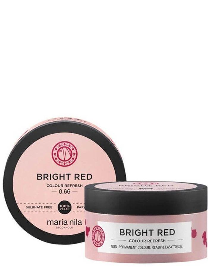Maria Nila Colour Refresh Haarmasker Bright Red 100ml