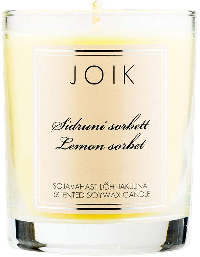 Joik Natuurlijke Geurkaars Lemon Sorbet