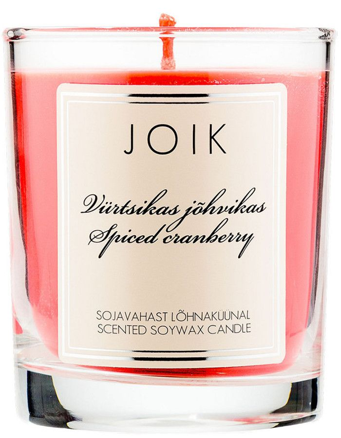 Joik Natuurlijke Geurkaars Spiced Cranberry