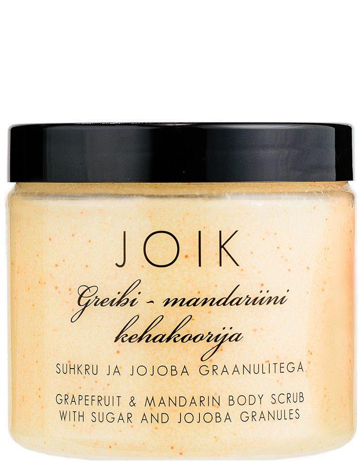 Joik Plantaardige Bodyscrub Grapefruit Mandarin 200ml