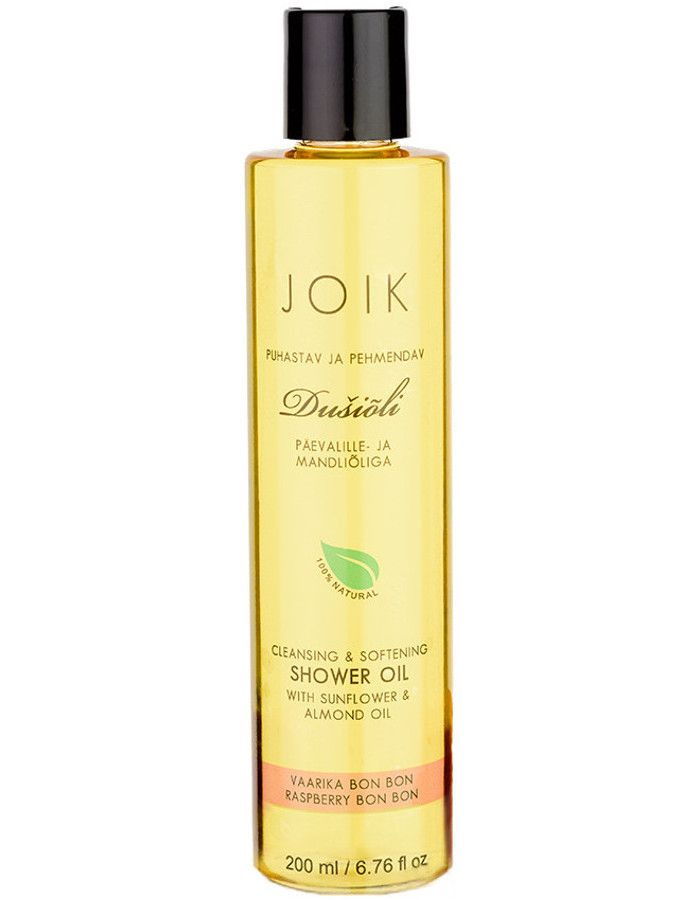 Joik Natuurlijke Shower Oil Raspberry Bon Bon 200ml