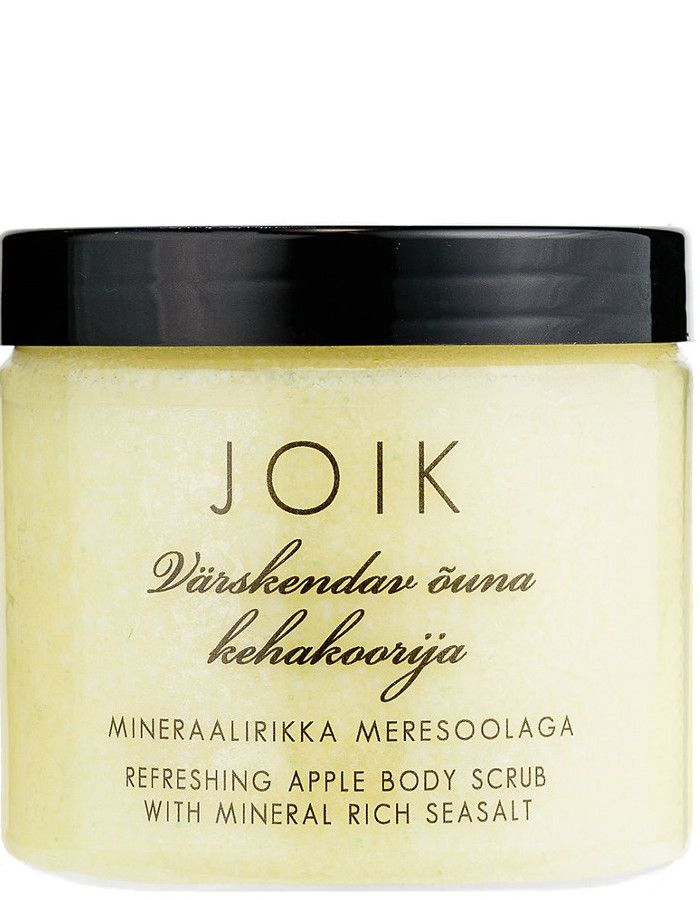 Joik Refreshing Body Scrub Apple Seasalt 200ml