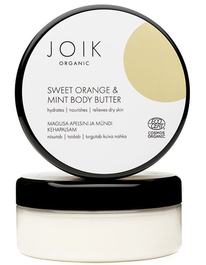 Joik Organic Sweet Orange & Mint Body Butter 150ml
