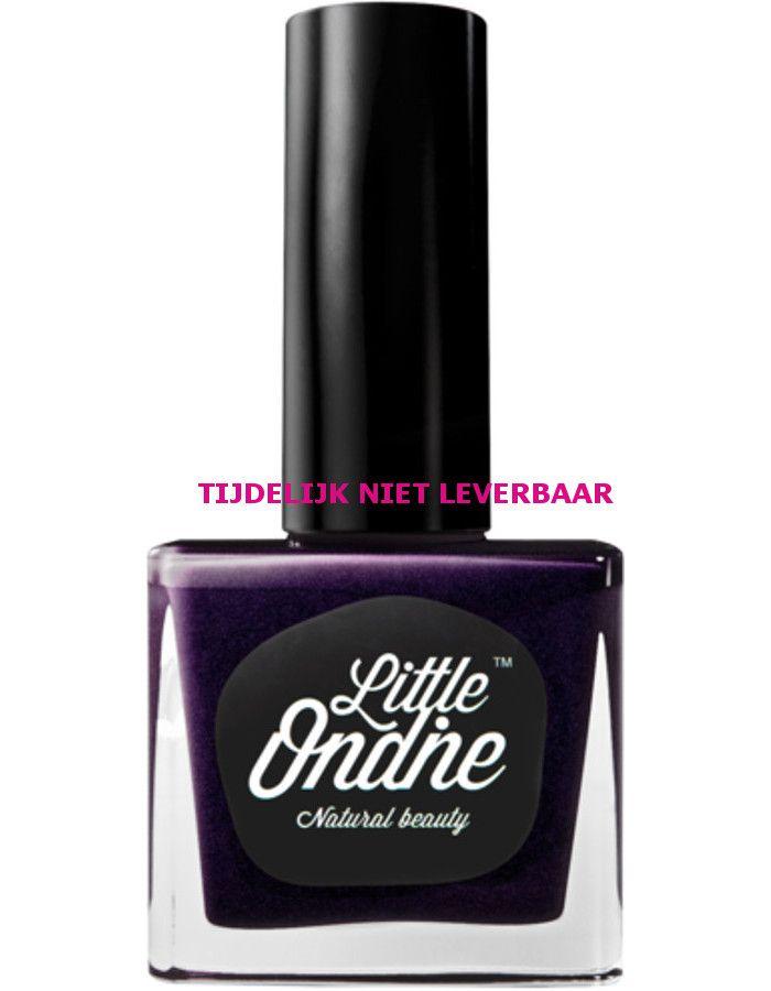 Little Ondine Natuurlijke Peel Off Nagellak Op Waterbasis L063 Plum Gorgeous Metallic Purple
