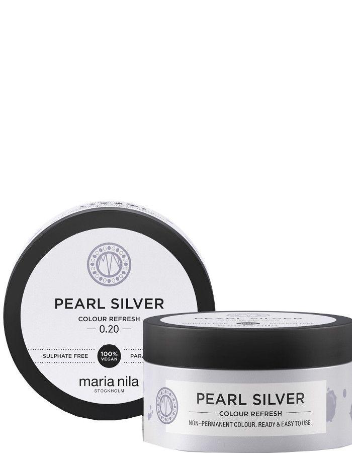 Maria Nila Colour Refresh Haarmasker Pearl Silver 100ml