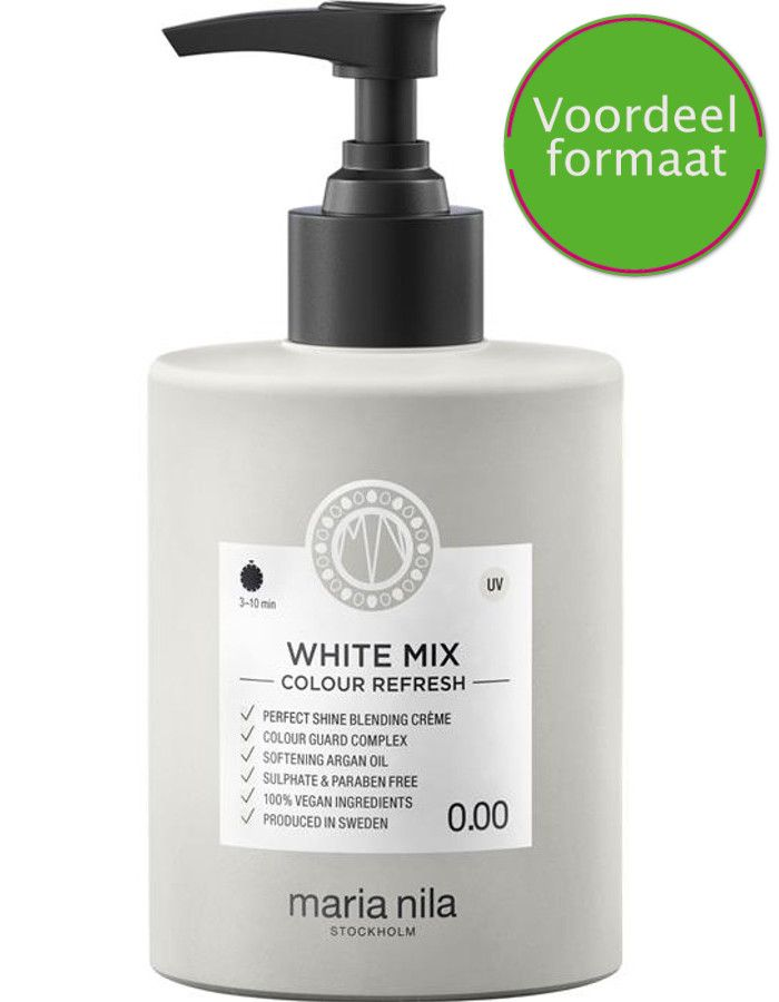 Maria Nila Colour Refresh Haarmasker 0.00 White Mix 300ml