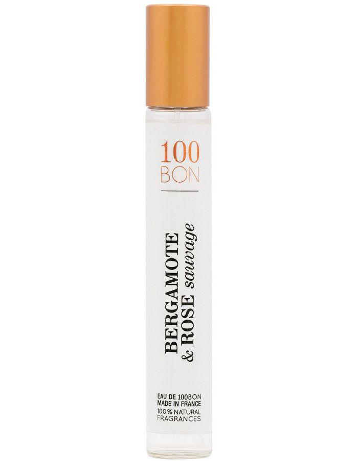 100Bon Bergamote & Rose Sauvage Eau De Toilette Spray 15ml