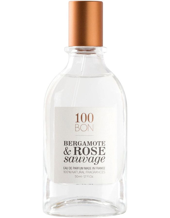 100Bon Bergamote & Rose Sauvage Eau De Toilette Spray 50ml