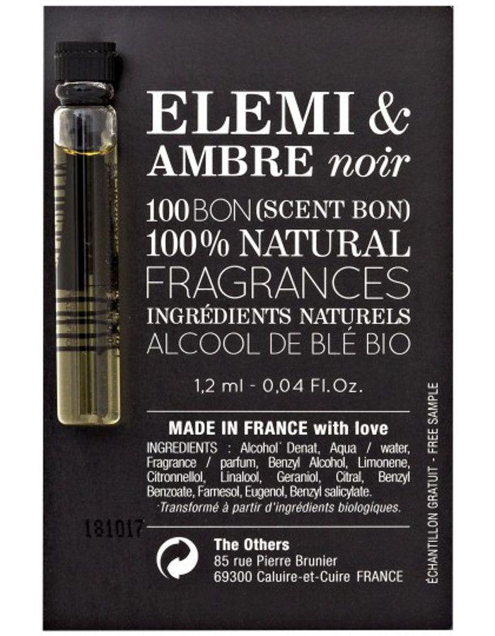 100Bon Elemi & Amber Noir Eau De Parfum Sample