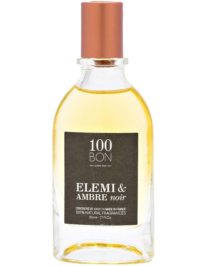 100Bon Elemi & Amber Noir Eau De Parfum Spray 50ml