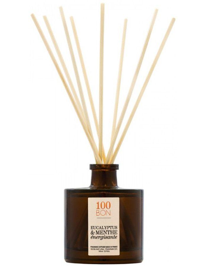 100Bon Eucalyptus & Menthe Energisante Fragrance Diffuser 100ml