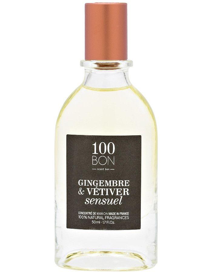 100Bon Gingembre & Vetiver Sensuel Eau De Parfum Spray 50ml