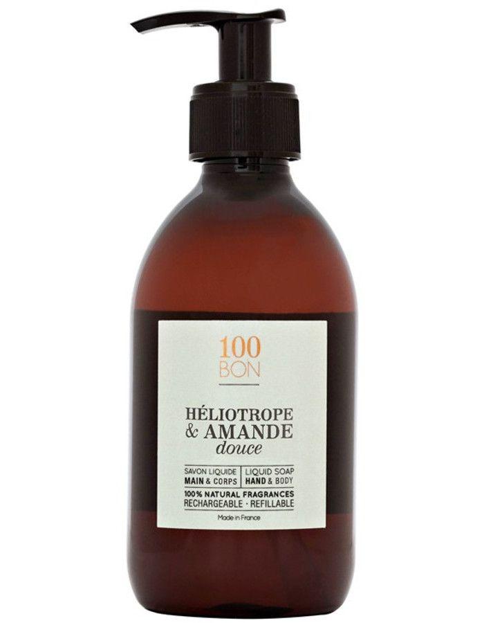 100Bon Heliotrope & Amande Douce Liquid Soap 300ml