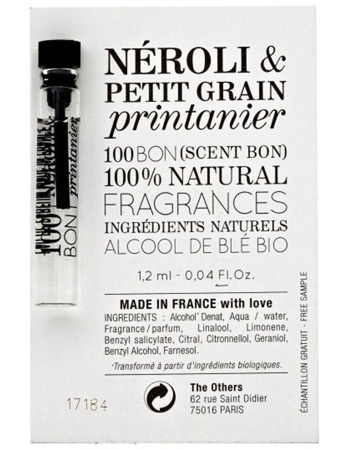 100Bon Neroli & Petit Grain Printanier Eau De Toilette Sample