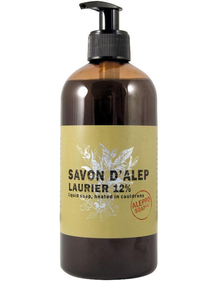 Aleppo Soap Company Vloeibare Aleppo Zeep 12% Laurier 500ml