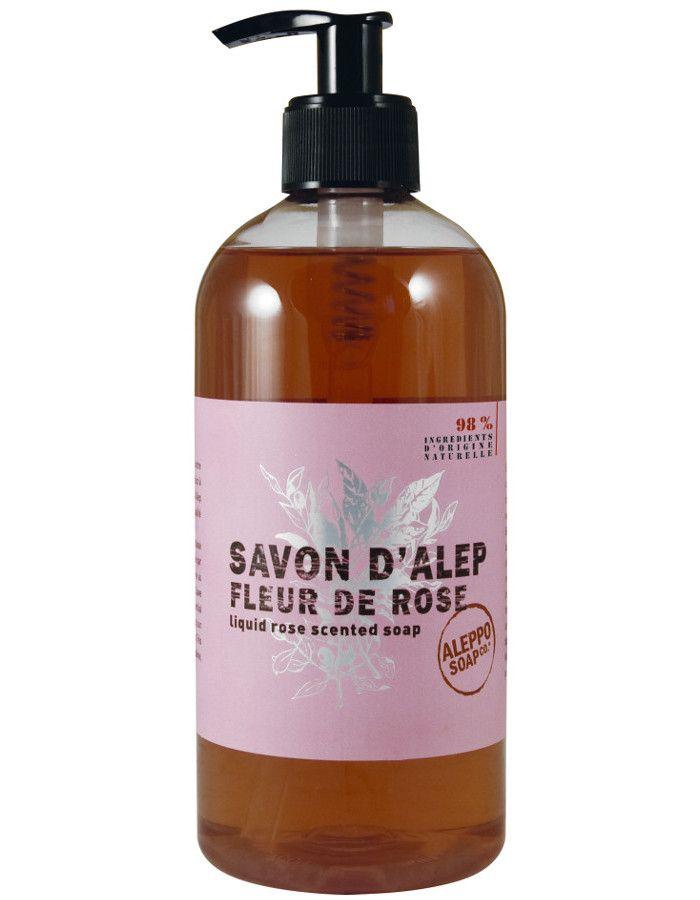 Aleppo Soap Company Vloeibare Aleppo Zeep Fleur De Rose 1000ml