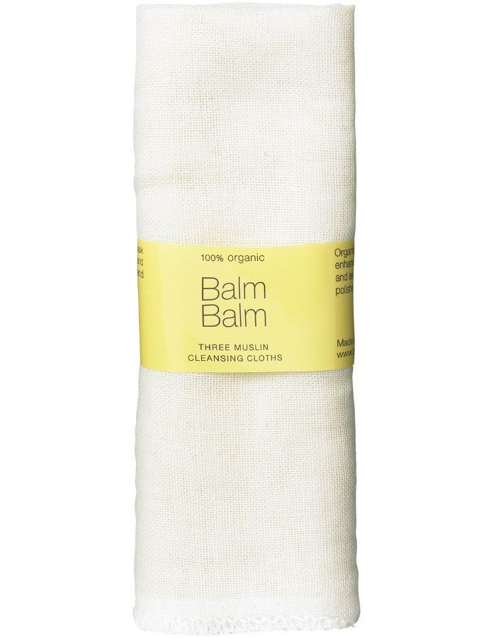 Balm Balm Organic Muslin Cleansing Cloths 3st