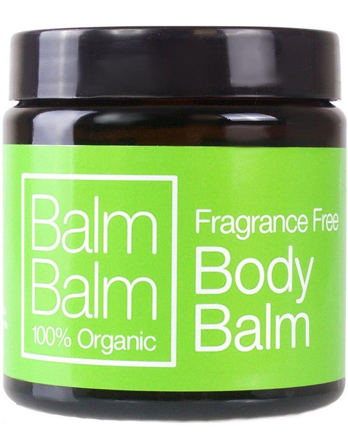 Balm Balm Organic Body Balm Fragrance Free 120ml