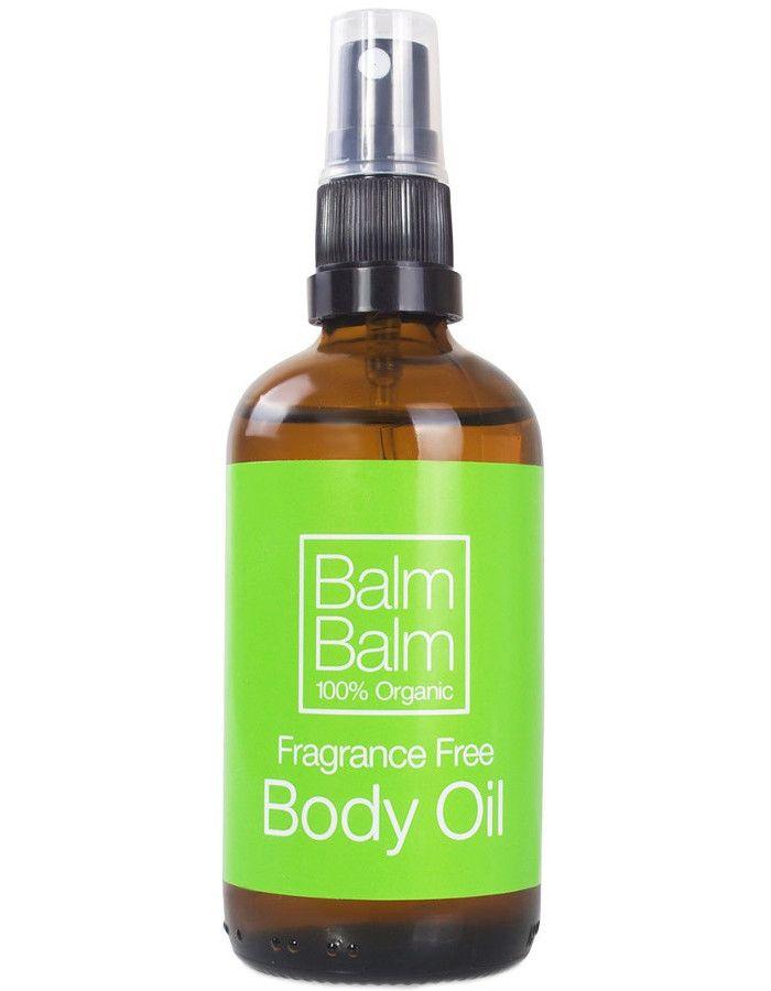 Balm Balm Organic Body Oil Fragrance Free 100ml