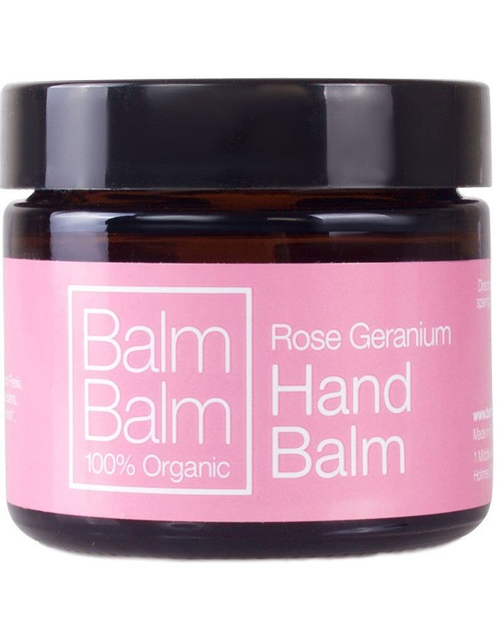 Balm Balm Organic Hand Balm Rose Geranium 60ml