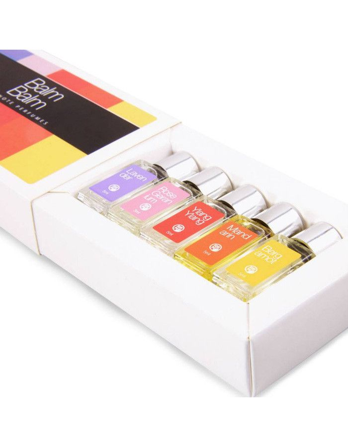 Balm Balm Organic Eau De Parfum Gift Set 5x5ml