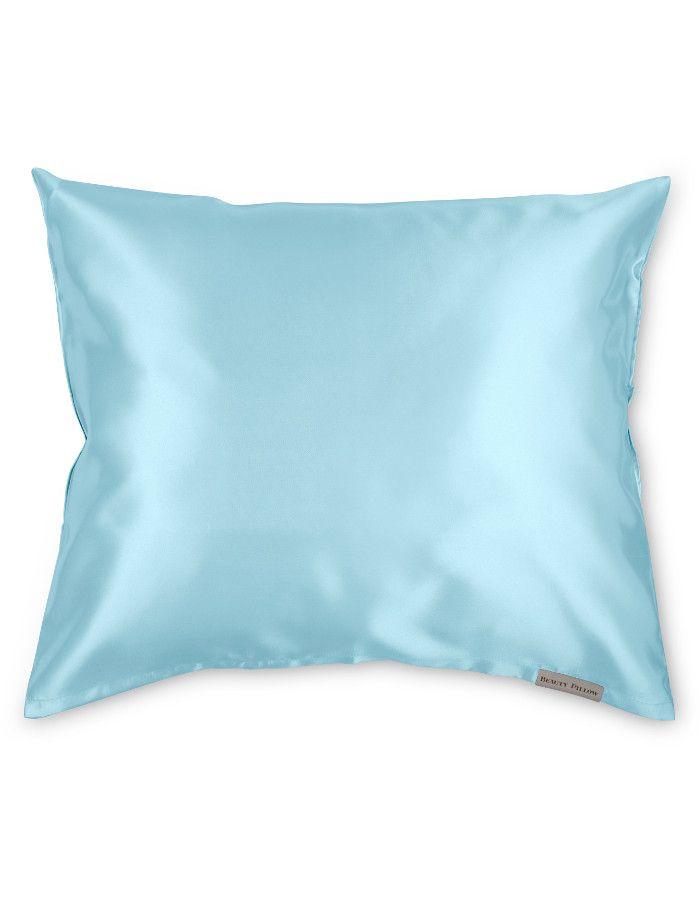 Beauty Pillow Satijnen Kussensloop Old Blue 60x70cm