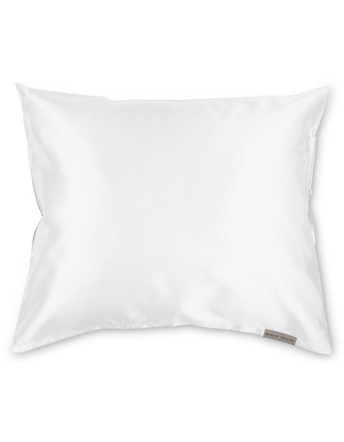Beauty Pillow Satijnen Kussensloop White 60x70cm