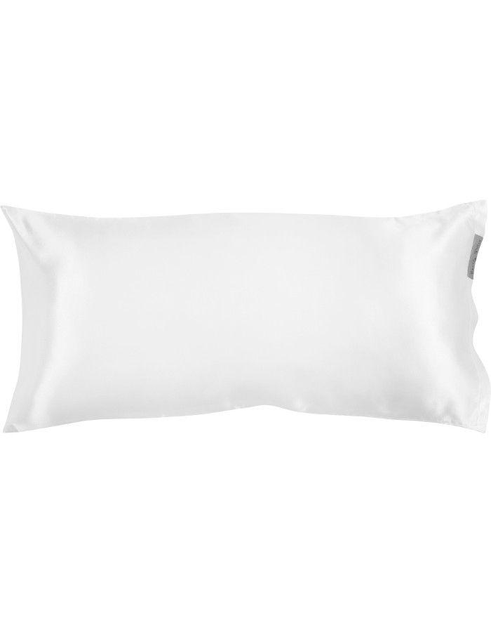 Beauty Pillow Satijnen Kussensloop White 80x40cm