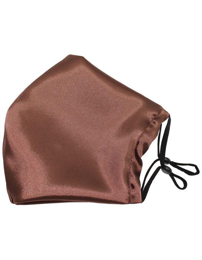 Beauty Pillow Satijnen Mondkapje Brown
