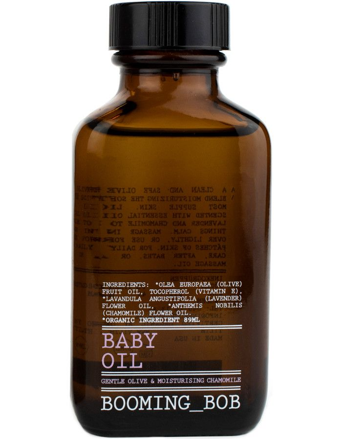 Booming Bob Baby Oil Gentle Olive 89ml