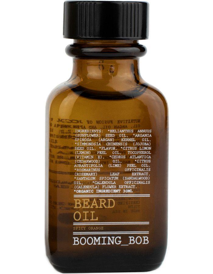 Booming Bob Beard Oil Spicy Orange 30ml