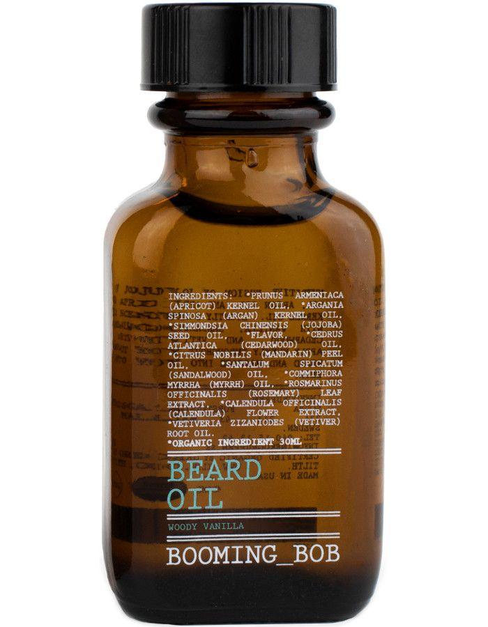 Booming Bob Beard Oil Woody Vanilla 30ml