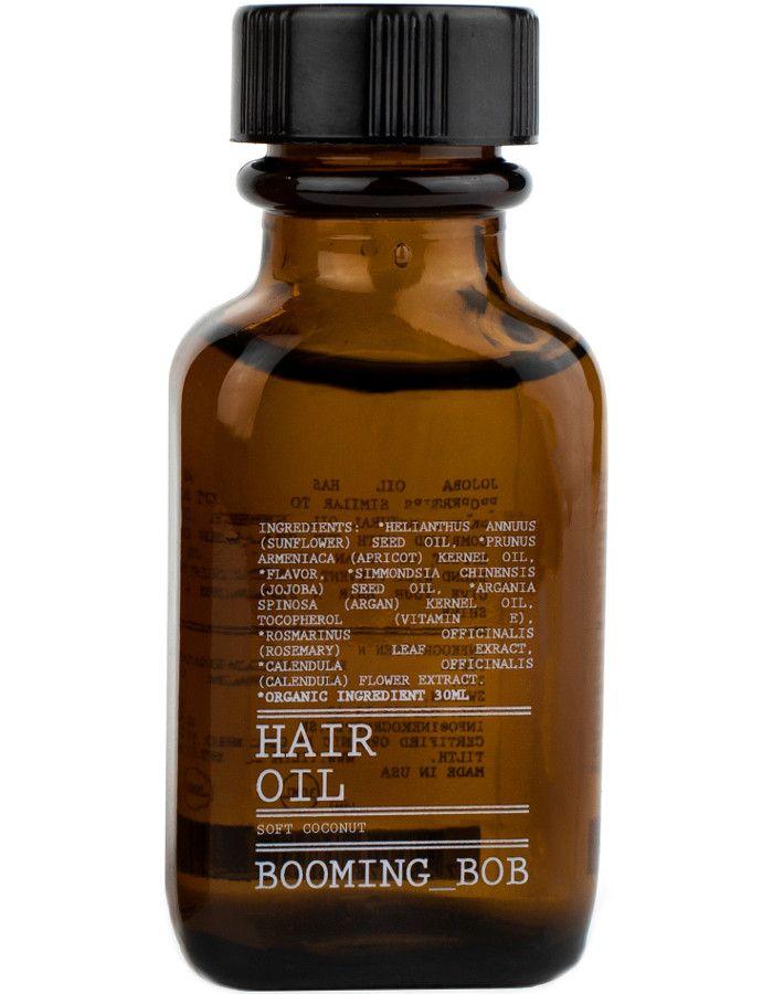 Booming Bob Hair Oil Soft Coconut 30ml