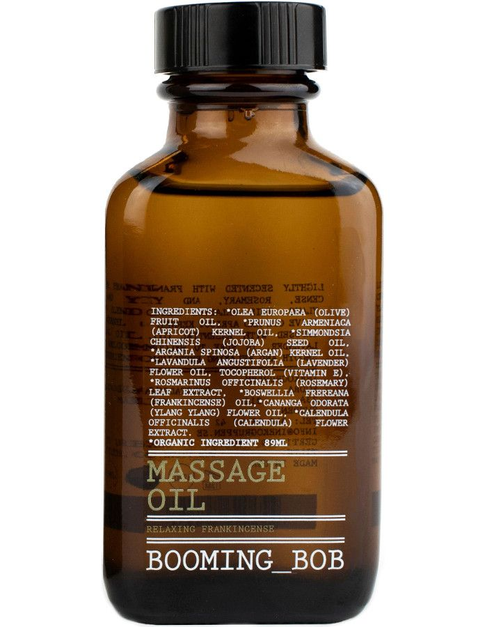 Booming Bob Massage Oil Relaxing Frankincense 89ml