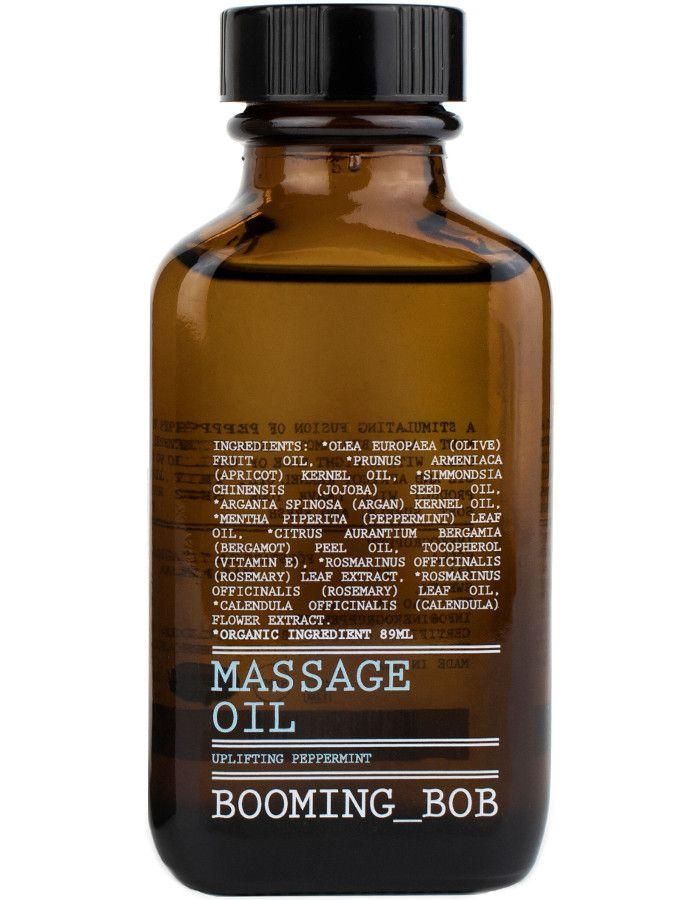 Booming Bob Massage Oil Uplifting Peppermint 89ml