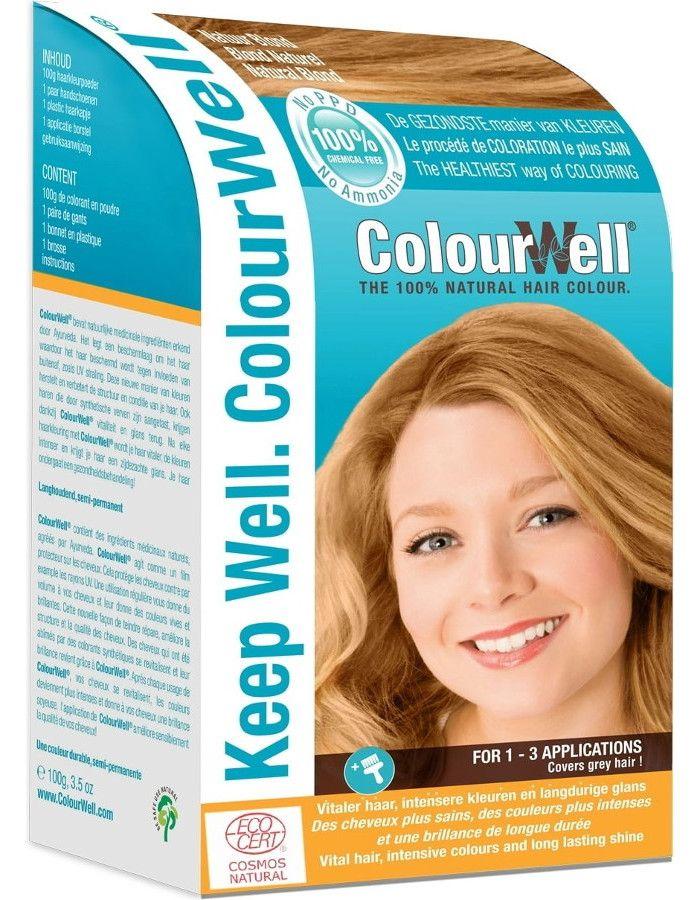 Colourwell 100% Natuurlijke Haarkleuring Natuurlijk Blond