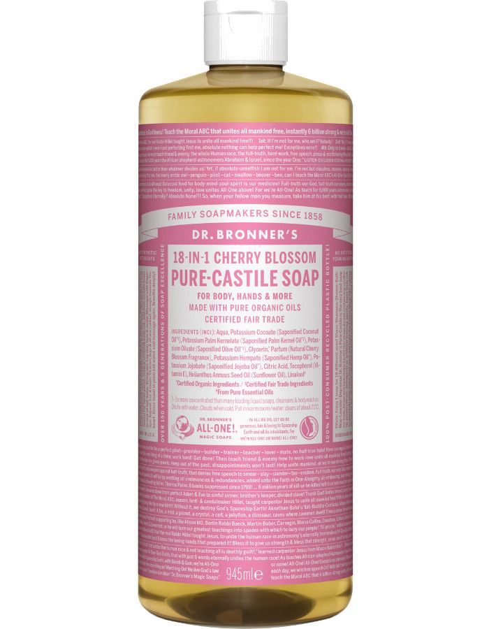 Dr Bronners All In One Liquid Soap Cherry Blossom 945ml