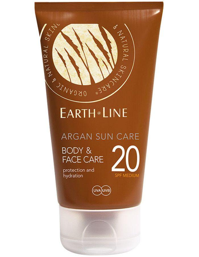 Earth Line Argan Sun Care Body & Face Spf20 150ml