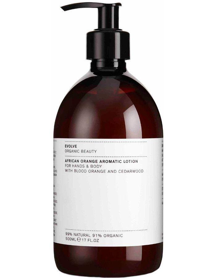 Evolve Organic Beauty African Orange Aromatic Hand & Body Lotion 500ml