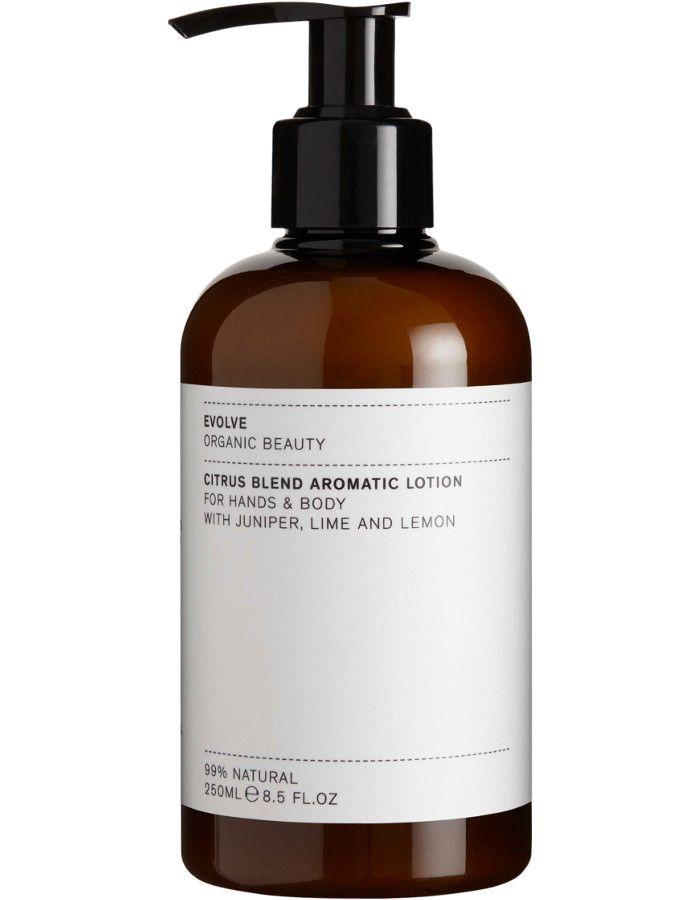 Evolve Organic Beauty Citrus Blend Aromatic Hand & Body Lotion 250ml