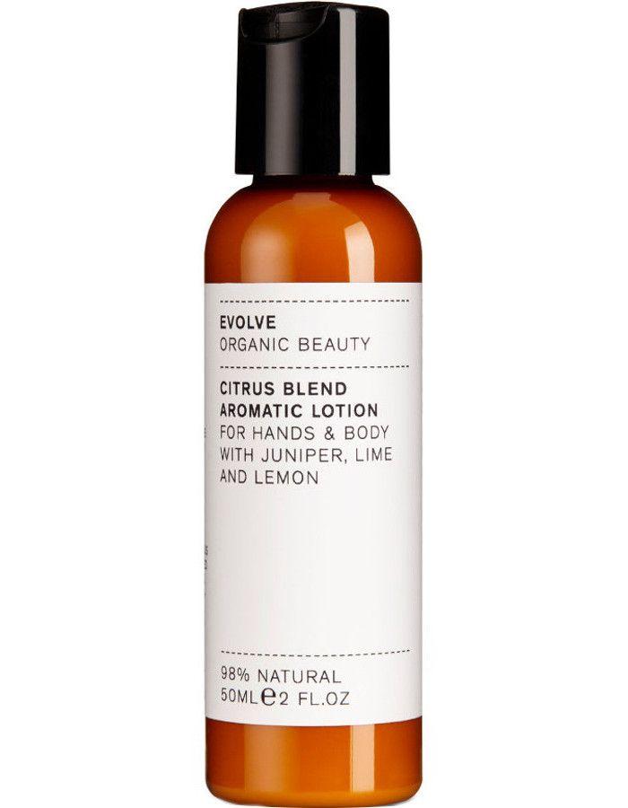 Evolve Organic Beauty Citrus Blend Aromatic Hand & Body Lotion Travel Size 50ml