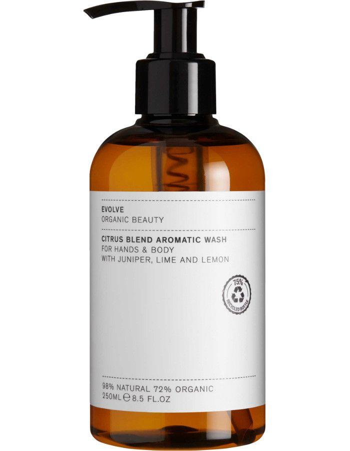 Evolve Organic Beauty Citrus Blend Aromatic Hand & Body Wash 250ml