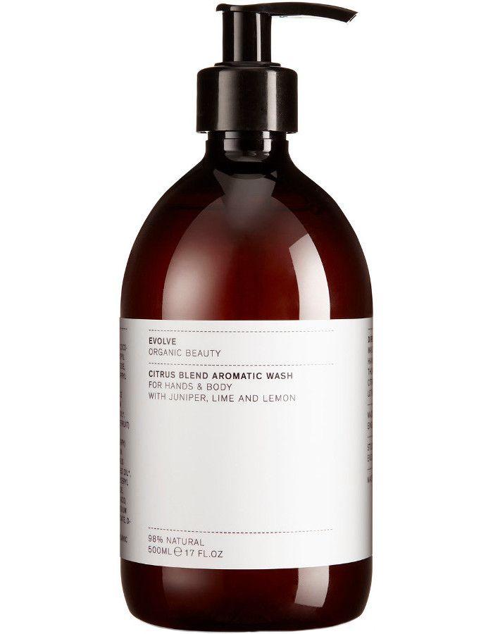 Evolve Organic Beauty Citrus Blend Aromatic Hand & Body Wash 500ml