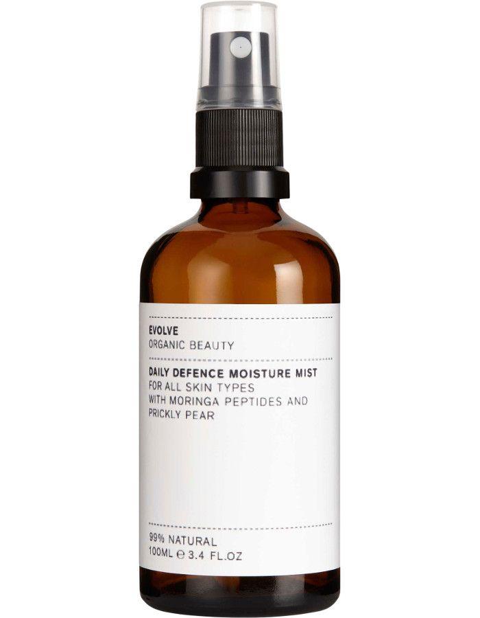 Evolve Organic Beauty Daily Defence Moisture Mist 100ml 5060200047996 snel, veilig en gemakkelijk online kopen bij Beauty4skin.nl