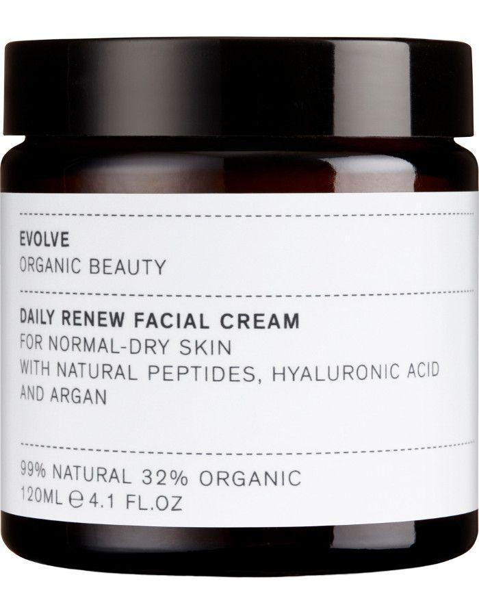 Evolve Organic Beauty Daily Renew Facial Cream 120ml 5060200048030xl snel, veilig en gemakkelijk online kopen bij Beauty4skin.nl